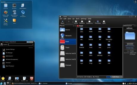 My Fedora KDE Desktop