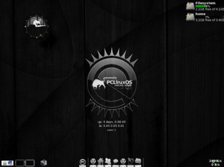 PCLinuxOS Enlightenment Desktop