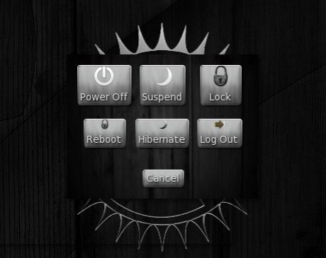 PCLinuxOS Enlightenment System Button Options